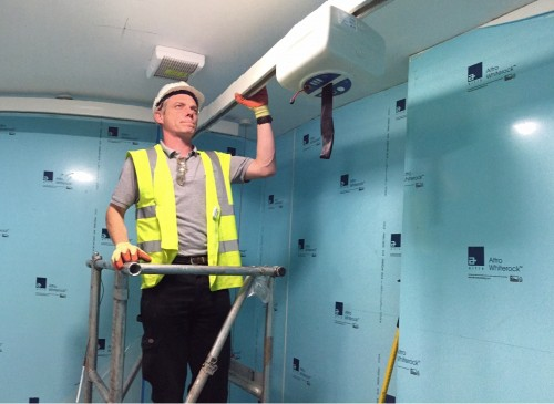 changing places hoist installation by aveso