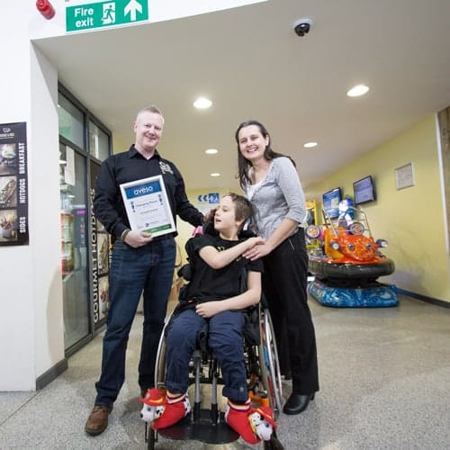 Aveso Announce People's Choice Changing Places Award 2016