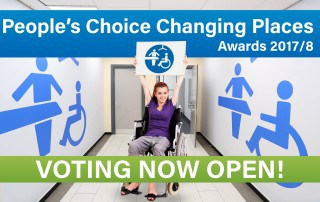 People's Choice Changing Places Awards 2017/8 - Cast your vote