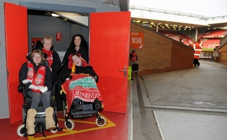 changing places at anfield