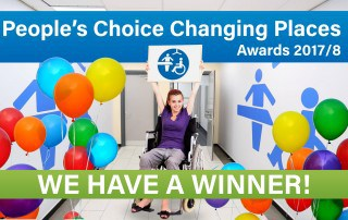 AVESO Changing Places - People's Choice Award