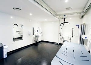 Changing Places Bathroom Installation