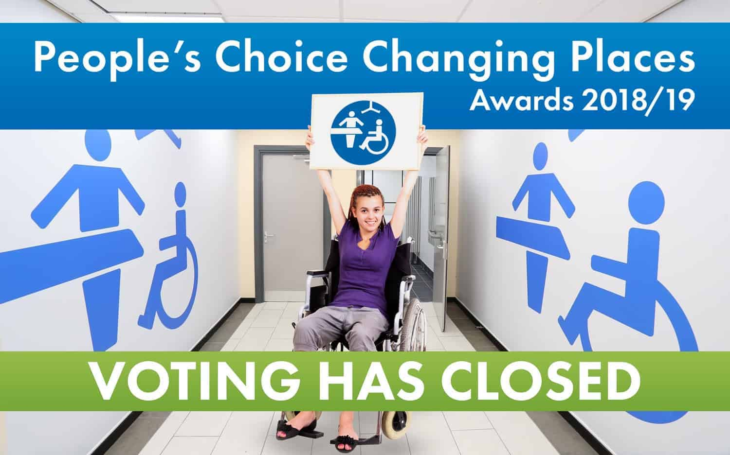 People's Choice Changing Places Awards 2018/19 - Voting now open!