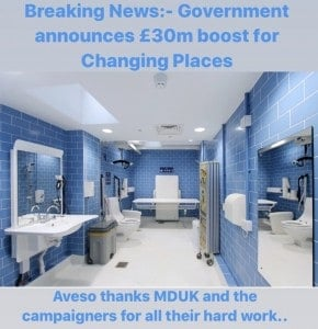Government grant changing places
