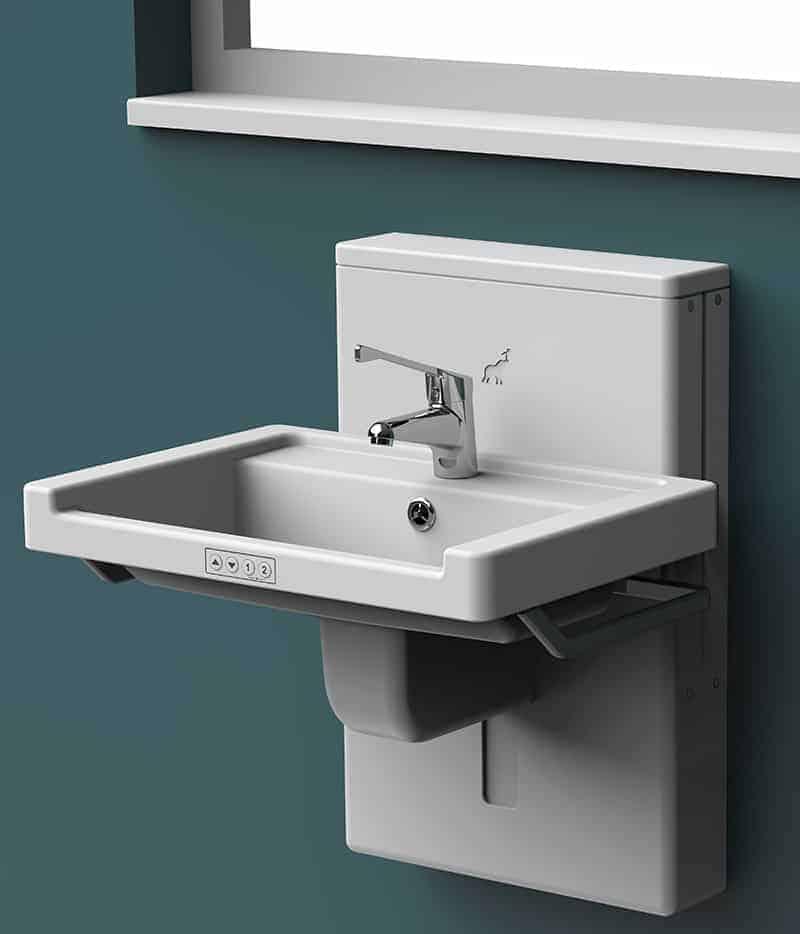 Astor Aquba – Height Adjustable Wash Basin