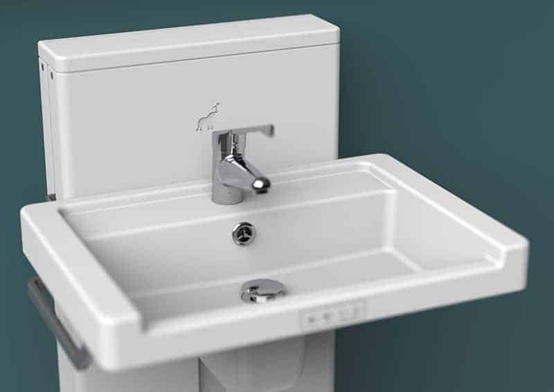 Height Adjustable Washbasin for Changing Places